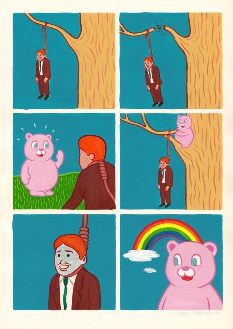 MR. RAINBOW by JOAN CORNELLÀ  http://joancornella.bigcartel.com/