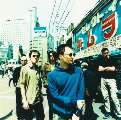 Radiohead en Japón.