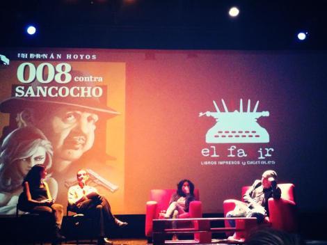 """Presentación del libro """"008 contra Sancocho"""", 12/06/2015, foto de Naty Rivas."""