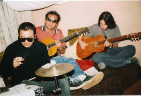 De izq a der: Álvaro Ruíz, Edgar Castellanos Molina y Roger Ycaza.